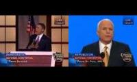 Obama and McCain - speech to DNC/RNC