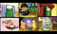 Veggietales Silly Song with Larry Sixparison