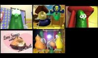 Veggietales Silly Song with Larry Fiveparison