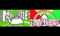 TomSka's Creations Mashup(I Like Trains X Mine Turtle,Make it Sound Good)