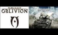 Battlefield 1943 and TES IV Oblivion Music Sound Similar