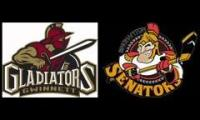 Rapid City Fighting Popes(Formerly the Binghamton Senators) Goal Horn