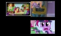 Sparta Remix Quadparison JELLY JAMM VS MY LITTLE PONY
