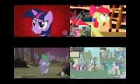 Little Pony Sparta Remixes QuadParison 9
