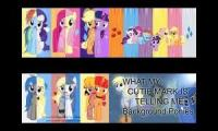 What My Cutie Mark Is Telling Me Song QuadParison