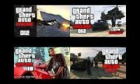 GTA Grand Theft Auto Online. 4 differents views