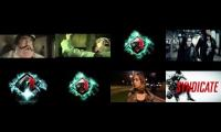 eight skrillex songs at once
