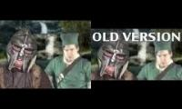 Dovahkiin vs Link - Epic Rap Battle Parodies Season 2 VS [OLD VERSION] Dovahkiin vs Link