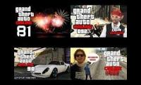 Lets Play GTA Online 1.1.2014 Curry, Sarazar, Tobinator, Mafuyu