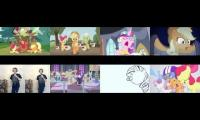 My little pony friendship is Magic.  Songs  Apples to core aria raise barn pop and hearts as horses