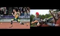 Oscar Pistorius Then and Now