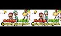 Mario and Luigi inside story mashup