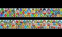All Kinder Egg Openings (Not All)