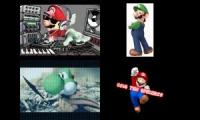 Super Mario Sparta Remixes Side-by-Side 1
