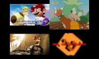 Super Mario Sparta Remixes Side-by-Side 4