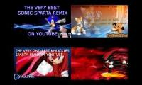 Sonic Sparta Remixes Side-by-Side 1