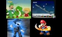 Super Mario Sparta Remixes Side-by-Side 8
