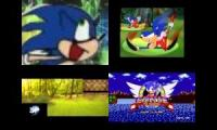 Sonic Sparta Remixes Side-by-Side 8