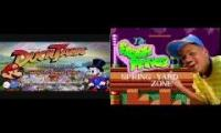 Ducktales theme / SMB3 Grassland / The Fresh Prince of Bel Air / Spring Yard Zone Mashup