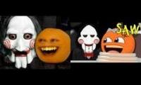 Animated Versions of The Annoying Orange Saw