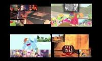 sparta remix quadparison ( team fortress 2 vs my little pony)