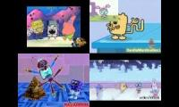 Sparta remixes Side By Side 2 [Wubbzy Vs Spongebob]