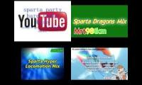 Sparta Party Hard Dragon Hyper Locomotion Brony Chaos Mix