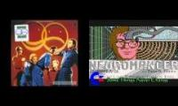 Devo song from the game Neuromancer from the 1980's