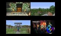 Minecraft Xbox 360 vs Xbox One vs Playstation 3 vs Playstation 4