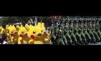 Pikachu march (soviet march and pikachu festival)