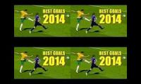 Best goals of 2014 mushup