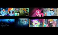 My Little Pony Eightparison English and Spanish