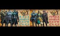Monster Hunter 4 Ultimate Male and Female Armor Comparison