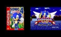 If Sonic 4 was on the Genesis