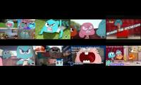 gumball has a epic 8 parison sparta remix must watch