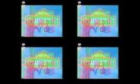 Sesame Street Home Video Super Effects Quadparison