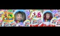 kinder surprise egg, disney, toy, funny, billy surprise