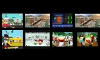 8 South Park Theme Song Intros Played at once