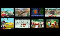 8 South Park Theme Song Intros Played At Once (Fixed)