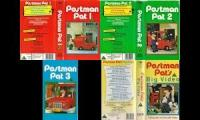 4 bbc children's videos from 1991 which are postman pat's 1 2 3 and big video