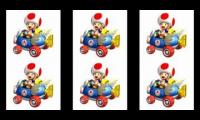 Toad Voices of Mario Kart x 6