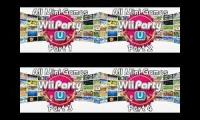 Wii Party U - All Mini Games Played At Once