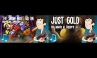 Mandopony: Just Gold/The Show Must Go On Mashup
