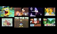 Nickelodeon VS Disney VS Cartoon Network VS Adult Shows Sparta Madhouse V3 Remix Eightparison