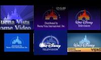 all the buena vista home video and disney logos