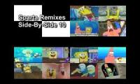 Spongebob Sparta Remixes Super Side-By-Side