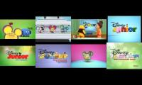 lots of idents of disney junior