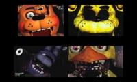 Five Nights at Freddys has a lot of sparta remixes (Early 90 sub special?)