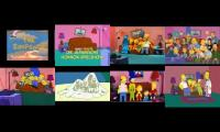 LOTS OF SIMPSONS COUCH GAGS