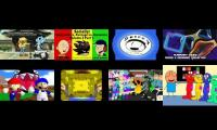 8Videos at once but in!